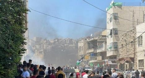 مواجهات شديدة مع الاحتلال في الضفة الغربية