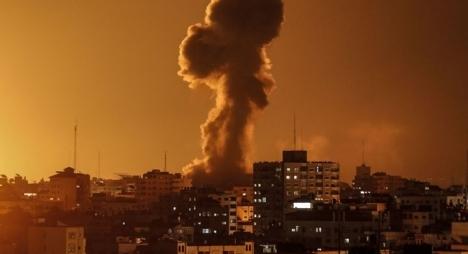 قوات الاحتلالتقصف جنوب قطاع غزة