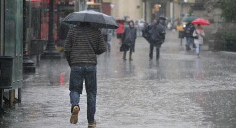 مديرية الأرصاد: نزول قطرات مطرية متفرقة مع رياح معتدلة إلى قوية
