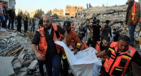 ارتفاع حصيلة عدوان الاحـتــلال على غزة إلى 126 شهيدا