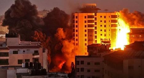 48 شهيدا بينهم 14 طفلا و296 إصابة حصيلة عدوان الاحتلال على غزة