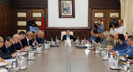 رئيس الحكومة يترأس الاجتماع السابع والسبعون للجنة الاستثمارات