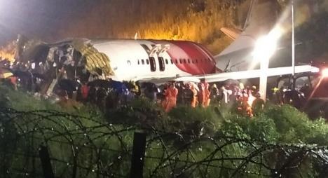 14 قتيلا و15 جريحا جراء تحطم طائرة هندية قادمة من دبي