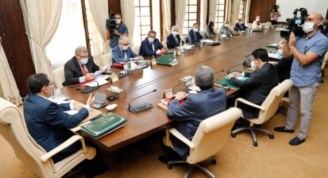 مرسوم تطبيق قانون إعادة تنظيم الصندوق المغربي للتقاعد على طاولة مجلس الحكومة