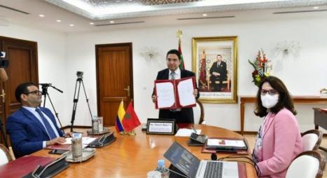 التوقيع على أربع اتفاقيات بين المغرب وكولومبيا