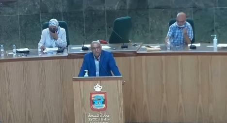 """أمحجور يستعرض حصيلة الإنجازات النوعية لمجلس جماعة طنجة """"فيديو"""""""