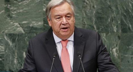 الأمين العام للأمم المتحدة يطالب البوليساريو وميليشياتها بمغادرة الكركارات