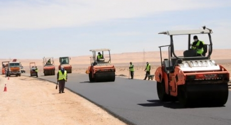 اعمارة: نسبة تقدم أشغال الطريق السريع تيزنيت-الداخلة بلغت 91 بالمائة