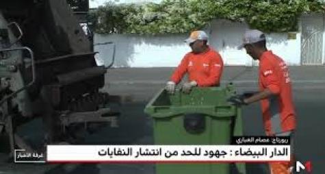 الدار البيضاء تنجح في كسب رهان النظافة في عيد الأضحى
