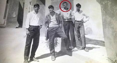 الراحل عبد الله بها سنة 1971 ببويزكارن