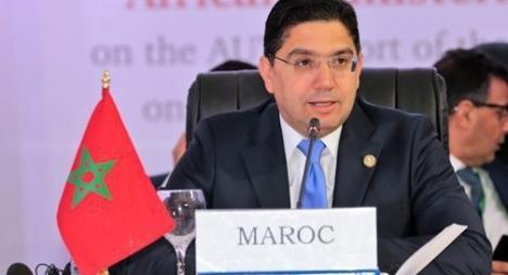 """بوريطة: مواجهة المغرب لـ""""كورونا"""" أطرتها رؤية ملكية قائمة على منح الأولوية لصحة المواطنين"""