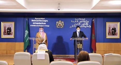 المغرب يجدد دعمه لكل قرارات ومواقف السعودية للحفاظ على أمنها وسيادتها وطمأنينة مواطنيها
