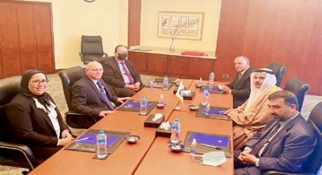 رئيس البرلمان العربي يشيد بالدور الريادي لجلالة الملك في دعم القضايا العربية والإقليمية