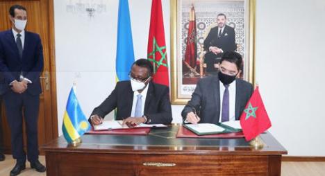 المغرب ورواندا يوقعان على اتفاقيتين لتعزيز التعاون الثنائي