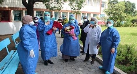 """861 حالة شفاء جديدة ترفع حصيلة المتعافين من """"كورونا"""" بالمغرب إلى 25385 حالة"""