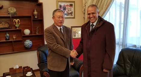 شوباني يبحث مع سفير الصين بالرباط آفاق التعاون والاستثمار بجهة درعة تافيلالت