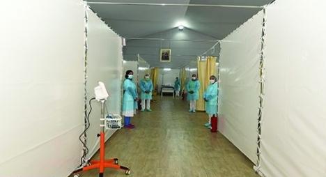 """""""كورونا""""..ارتفاع نسبة ملء المستشفيات الميدانية بجهة البيضاء"""