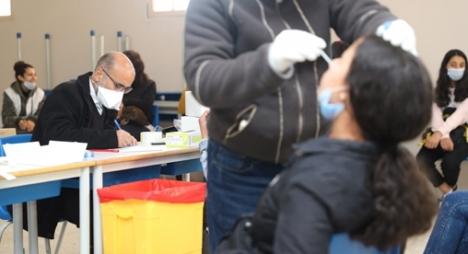 السلالة الجديدة لكورونا.. حملة للكشف تستهدف حوالي 1215 تلميذ في الإعدادي والثانوي بعمالة الصخيرات-تمارة