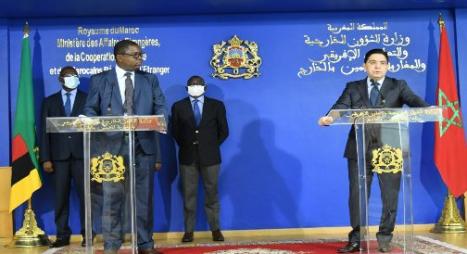 """تدشين زامبيا تمثيليات دبلوماسية بالمغرب يجسد """"اهتمامها الكبير"""" بالتعاون مع المملكة"""