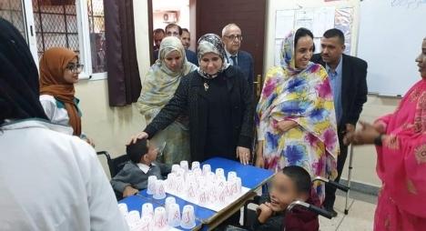 كلميم.. أزيد من 270 طفل يستفيدون من خدمات المركز الاجتماعي للأطفال في وضعية إعاقة