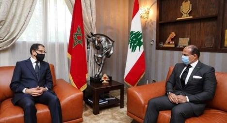 للتضامن والتعزية.. رئيس الحكومة يزور السفير اللبناني بالرباط
