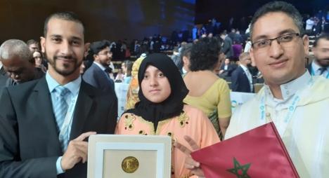 تتويج ثانوية الأمل الإعدادية بالرحامنة بجائزة الشيخ زايد للاستدامة