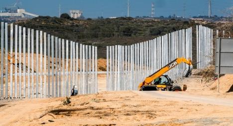 الاحتلال يبني جدارعزلجديدعلى حدود غزة بارتفاع 6 أمتار