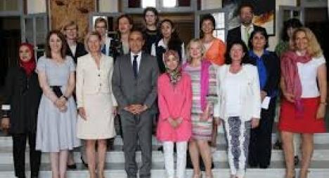 وفد البرلمانيات والسياسيات الألمانيات يشيد بمدونة الأسرة المغربية