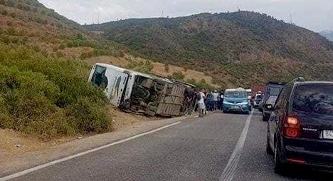 """مصرع 12 شخصا وإصابة 36 آخرين في حادثة سير على مستوى جماعة """"امسوان"""""""