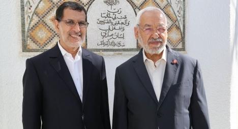 العثماني يهنئ الغنوشي بمناسبة انتخابه رئيسا للبرلمان التونسي
