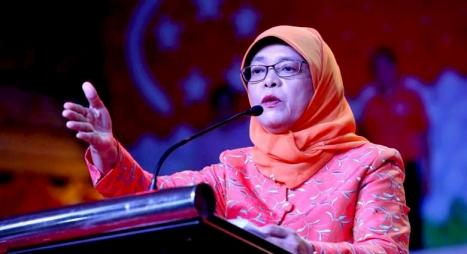 للمرة الأولى..امرأة من الأقلية المسلمة رئيسة في سنغافورة