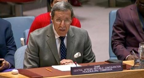 هلال يقدم أمام مجلس الأمن تقريرا حول زيارته لافريقيا الوسطى