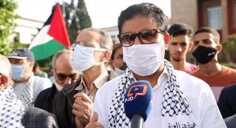 حامي الدين يشجب غطرسة الاحتلالضد الشعب الفلسطيني