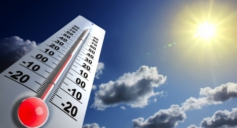 الطقس حار يوم غد الإثنين بهذه المناطق