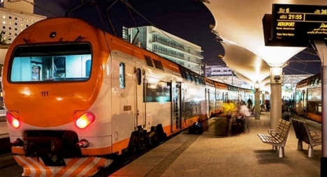 """oncf"" يعلن تاريخ استئناف حركة القطارات الرابطة بين البيضاء ومطار محمد الخامس"