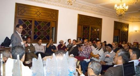 """سلا.. العثماني يترأس """"حفل الوفاء"""" على شرف أعضاء الحزب بمحلية باب لمريسة (صور)"""