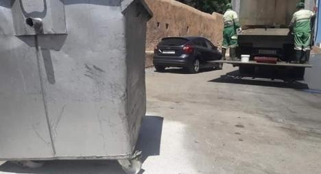 سلا..رئيس مقاطعة لمريسة يعلن نجاح حملة النظافة بمناسبة عيد الأضحى