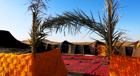 ربورتاج: الخيمة... رمز صحراوي متجذرة أوتاده في التاريخ