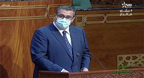 """أخنوش: الفلاحة المغربية تواجه أزمة """"الماء"""" وتبعات """"كورونا"""""""