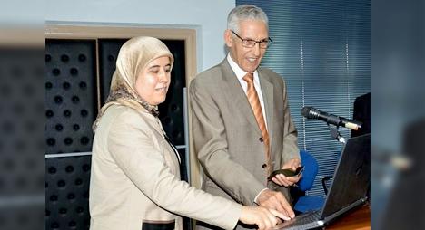 الداودي والمصلي يطلقان منصة إلكترونية متعلقة بقاعدة المعطيات الخاصة بأطروحات الدكتوراه