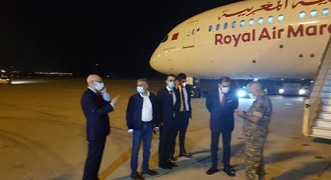 الحكومة اللبنانية: المبادرة الإنسانية المغربية تعتبر من أكبر المساعدات التي وصلت لبنان