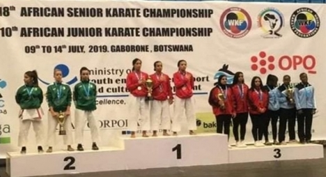 المغرب يحرز لقب بطولة إفريقيا للكراطي بـ 14 ميدالية منها 11 ذهبية