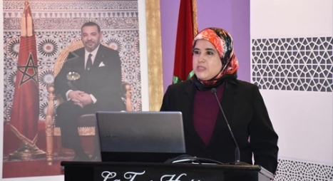 المصلي تسلم جائزة الرواق الولوج والدامج بالمعرض الدولي للكتاب
