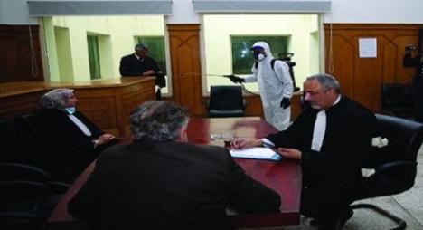 """""""كوفيد-""""19.. إجراءات حمائية للقضاة ولموظفي ومرتفقي قطاع العدل"""