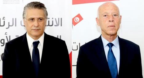 """رسميا.. """"سعيّد"""" و""""القروي"""" يتنافسان في الدور الثاني لرئاسيات تونس"""