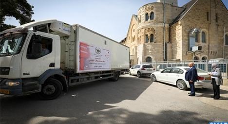 الإشادة بدور جلالة الملك محمد السادس في دعم المؤسسات بمدينة القدس المحتلة