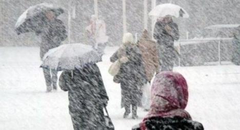 نشرة خاصة.. تساقطات ثلجية وطقس بارد ورياح قوية مرتقبة من الأربعاء إلى السبت