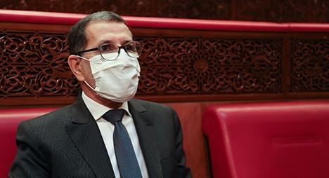 رئيس الحكومة يقدم بيانات بشأن تطورات الحالة الوبائية خلال جلسة مشتركة للبرلمان