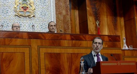 رئيس الحكومة يقدم بيانات بشأن الحالة الوبائية خلال جلسة عامة مشتركة للبرلمان