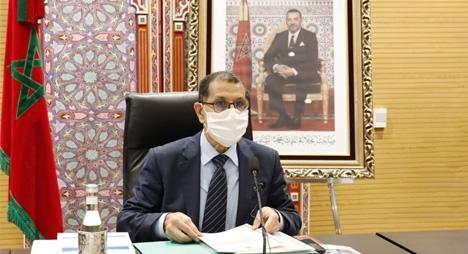 """العثماني: الحكومة حاضرة في جميع مراحل اتخاذ القرار وتتحمل مسؤولية تدبير جائحة """"كورونا"""""""